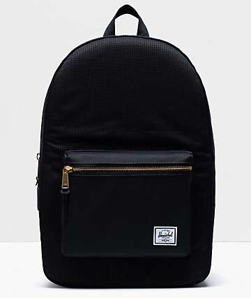 Herschel Supply Co. Settlement Dark Grid & Black Backpack