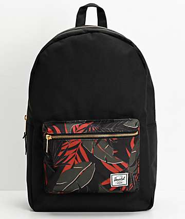 Herschel Supply Co. Settlement Dark Olive Palm Backpack