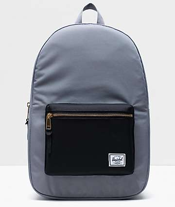 Herschel Supply Co. Settlement Grey & Black Backpack