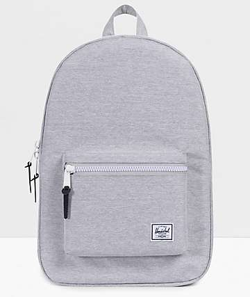 Herschel Supply Co. Settlement Light Grey Crosshatch Backpack