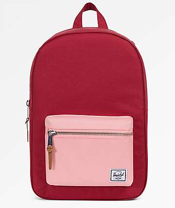 3f9397a30be Herschel Supply Co. Settlement Mid Brick Red   Peach Backpack