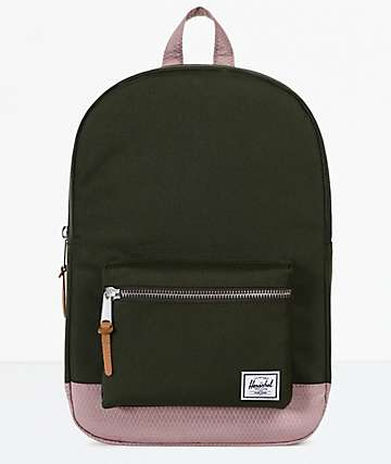 Herschel Supply Co. Settlement Mid Forest & Ash Rose Backpack