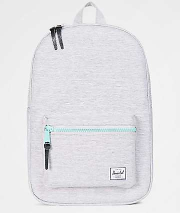 Herschel Supply Co. Settlement Mid Light Grey & Lucite 17L Backpack