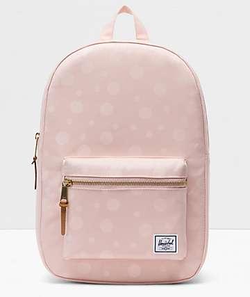 Herschel Supply Co. Settlement Mid Polka Cameo Rose Backpack