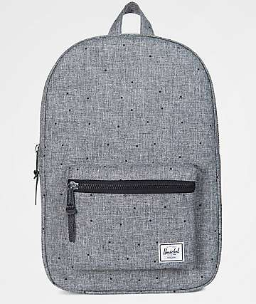 Herschel Supply Co. Settlement Mid Scattered Raven Crosshatch 17L Backpack