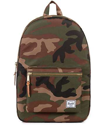 Herschel Supply Co. Settlement Woodland Camo 23L Backpack
