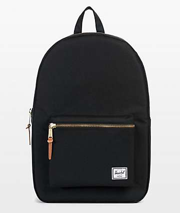 Herschel Supply Co. Settlement mochila negra 11L