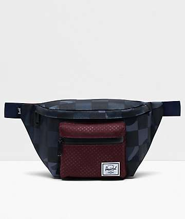 Herschel Supply Co. Seventeen Camo, Polka Dot & Checkered Fanny Pack