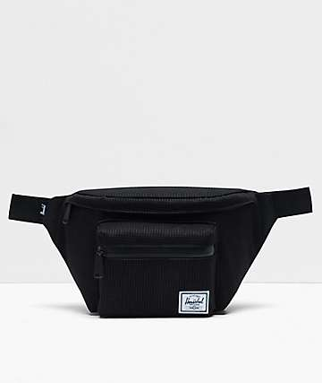 Herschel Supply Co. Seventeen Dark Grid & Black Fanny Pack