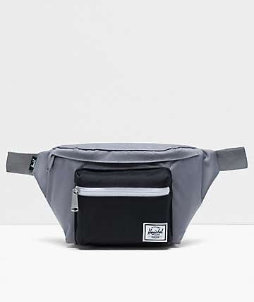 Herschel Supply Co. Seventeen Grey & Black Fanny Pack