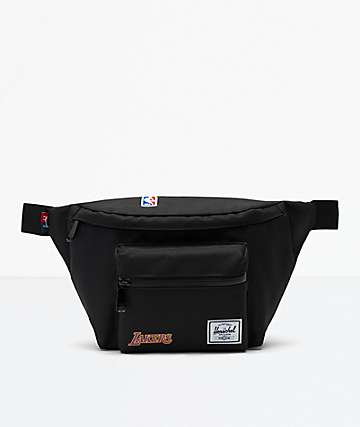 Herschel Supply Co. Seventeen LA Lakers Black Fanny Pack