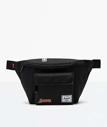 Herschel Supply Co. Seventeen LA Lakers riñonera negra
