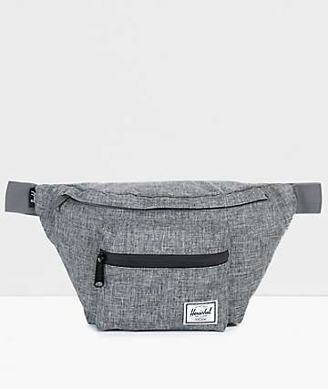 7ba7116dac02 Herschel Supply Co. Seventeen Raven Crosshatch Fanny Pack