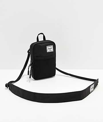Herschel Supply Co. Sinclair Small 0.5L Black Pouch Bag