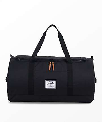 Herschel Supply Co. Sutton Black 46.5L Duffle Bag