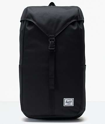 Herschel Supply Co. Thompson Black Backpack