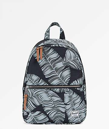 Herschel Supply Co. Town Extra Small Black Palm Mini Backpack