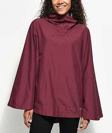Herschel Supply Co. Voyage Burgundy Poncho