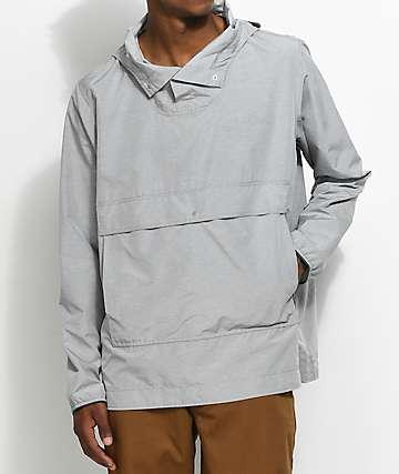 Herschel Supply Co. Voyage chaqueta anorak en gris claro