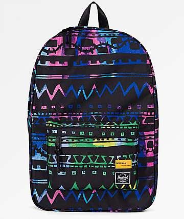 Herschel Supply Co. Winlaw Zig Zag Blue & Green 17L Backpack