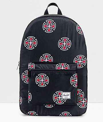 Herschel Supply Co. X Independent Packable Black Daypack
