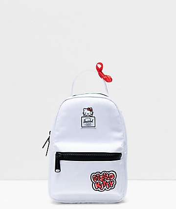 Herschel Supply Co. x Hello Kitty 45th Anniversary Nova White Mini Backpack