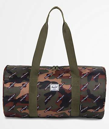 Herschel Supply Co. x Independent Camo Packable 22L Duffle Bag