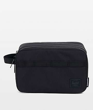 Herschel Supply Co. x Independent Chapter Black Travel Kit