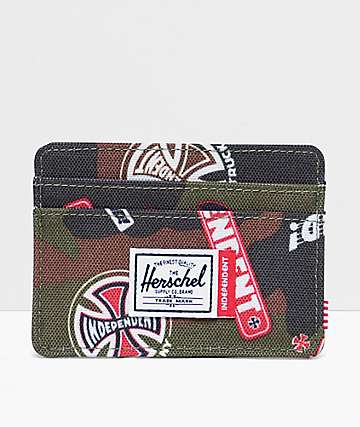 Herschel Supply Co. x Independent Charlie Camo Cardholder Wallet