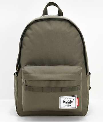 Herschel Supply Co. x Independent Classic XL mochila verde