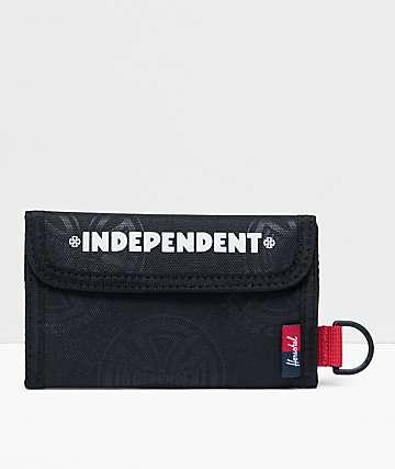 Herschel Supply Co. x Independent Fairway Black, White & Red Wallet