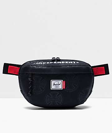 Herschel Supply Co. x Independent Nineteen Black Fanny Pack
