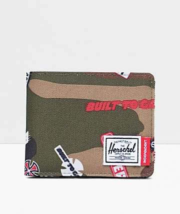 Herschel Supply Co. x Independent Roy Camo Bifold Wallet
