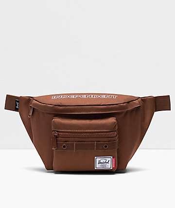 Herschel Supply Co. x Independent Seventeen Saddle Brown Fanny Pack