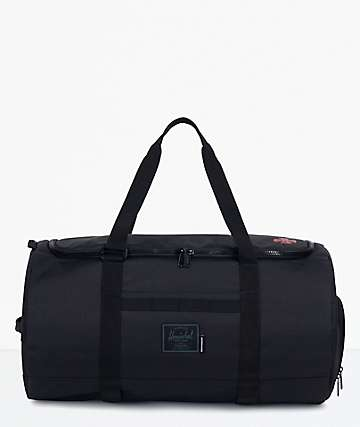 Herschel Supply Co. x Independent Sutton Black Duffle Bag