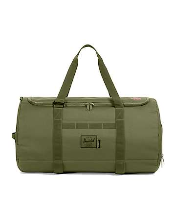 Herschel Supply Co. x Independent Sutton Ivy Green Duffel Bag