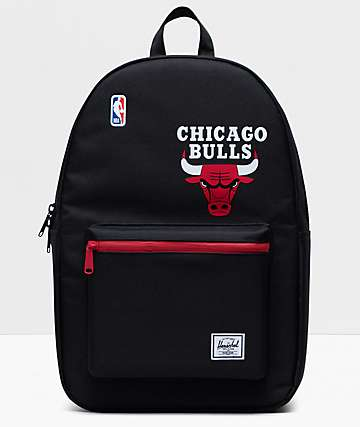 Herschel Supply Co. x NBA Chicago Bulls Settlement Black & Red Backpack
