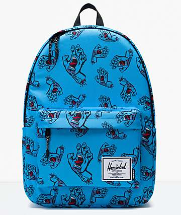 Herschel Supply Co. x Santa Cruz Classic XL Blue Backpack
