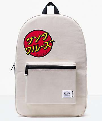Herschel Supply Co. x Santa Cruz Daypack Japanese Natural Backpack