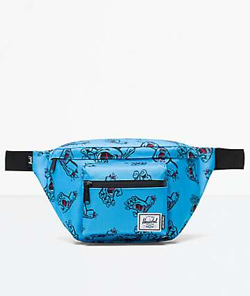 Herschel Supply Co. x Santa Cruz Seventeen Santa Cruz Blue Fanny Pack
