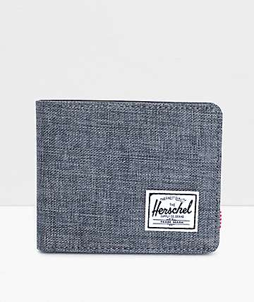 Herschel Supply Hank Crosshatch Bifold Wallet