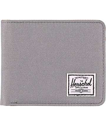 Herschel Supply Hank Grey Bifold Wallet