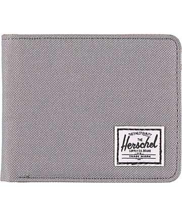 Herschel Supply Hank Grey Bifold Wallet