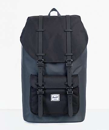 Herschel Supply Little America Dark mochila 25L negro y sombra