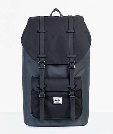 Herschel Supply Little America Dark mochila 25L negro y sombra