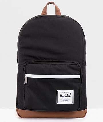 Herschel Supply Pop Quiz Black Backpack