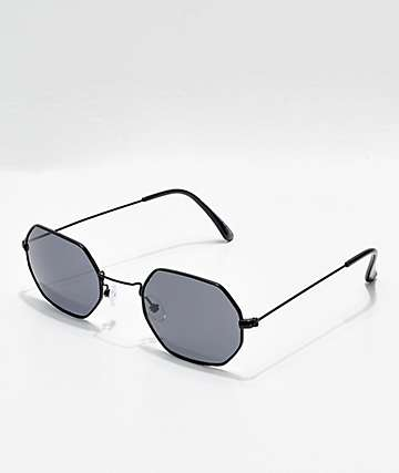 Hex Black Sunglasses