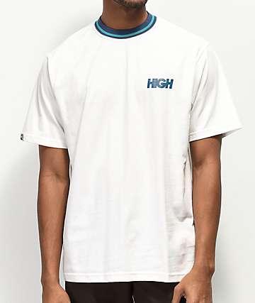 High Company Classy White & Navy T-Shirt