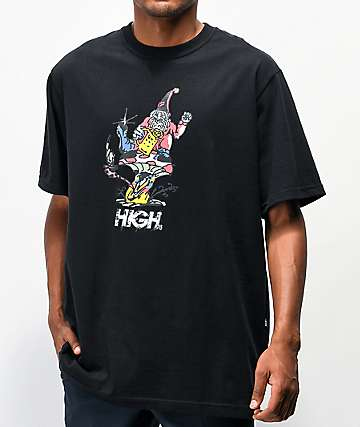 High Company Gnome Black T-Shirt