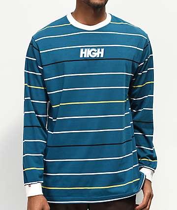 High Company Kidz Blue Long Sleeve T-Shirt